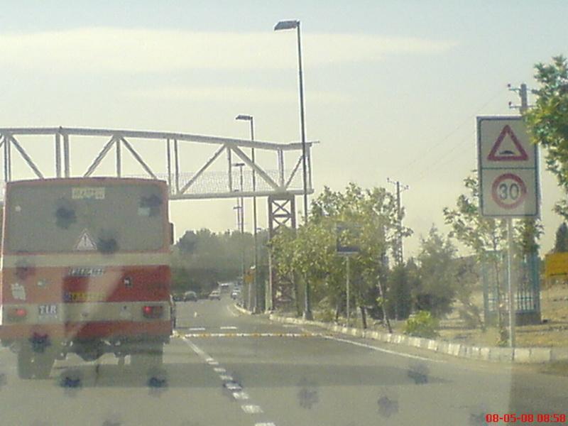 پل هوایی بدون پله !! نزدیک هتل المپیک...