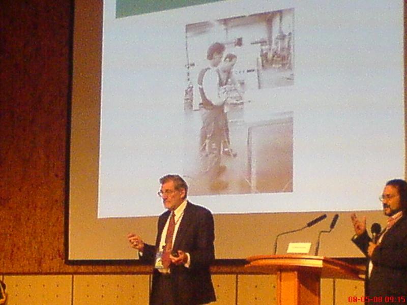 پروفسور موریس اکستنبرگ از استرالیا
